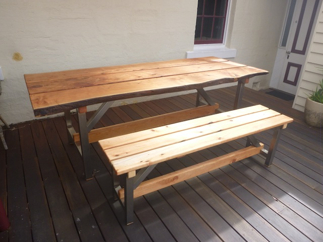 Cypress table & seat.JPG